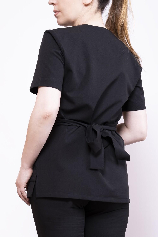 Блузка из эластичной ткани