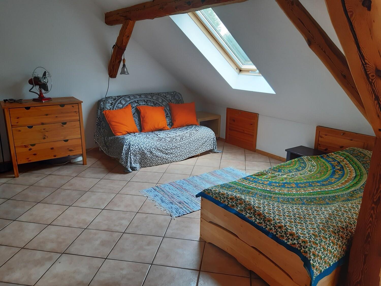 Dachwohnung 3-4 Betten