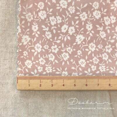 Doobarim Jemma Flowers cotton 30s_pink