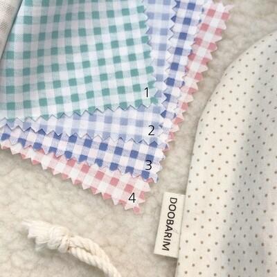 Doobarim Cotton Jelly Checkered 40s
