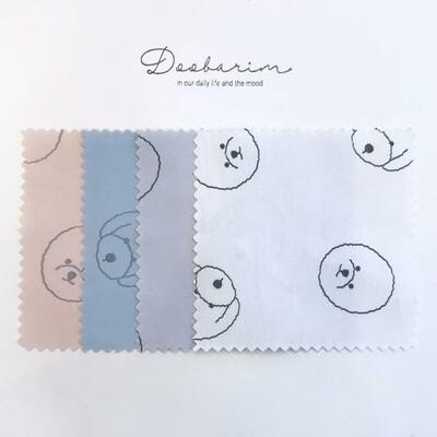 Doobarim Cotton Bichon Cotton 20s Twill