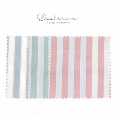 Doobarim Cotton Daily Stripe 40s