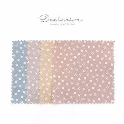 Doobarim Cotton Love Flower 30s