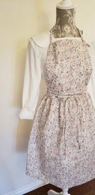Dress Apron _ Cotton Flowers