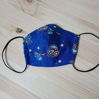 Kids Handmade Mask _ Captain America