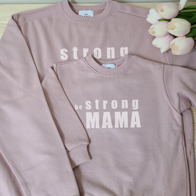 Adults Sweatshirt _ Be Strong series