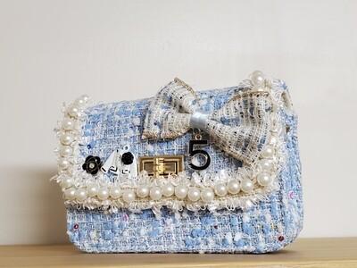 Mini Tweed _ Sky Blue