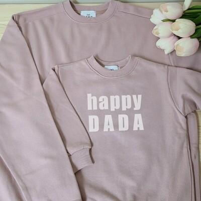 Adults Sweatshirt _ HAPPY series