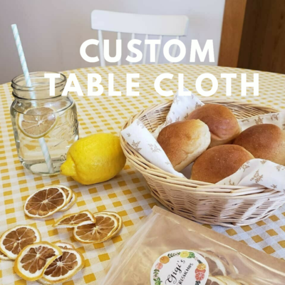 Round Table Cloth _ 4 people