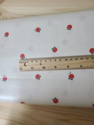 Laminated cotton_apple