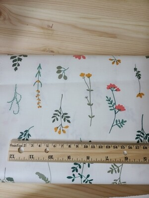 Laminated cotton_ natural flower