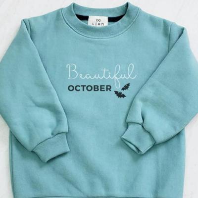 Kids Sweatshirt _ Birthday Month