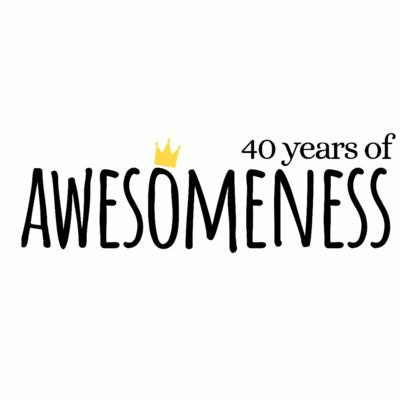 Adult Sweatshirt _ Years of Awesomeness