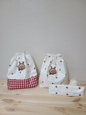Toto Christmas Pouch Set