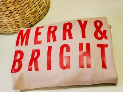 Merry & Bright _ Mom Sweatshirt
