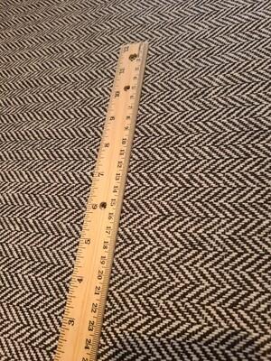 Herringbone wool