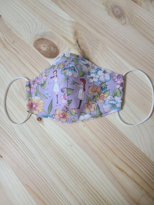 Handmade Mask _ Anne Purple