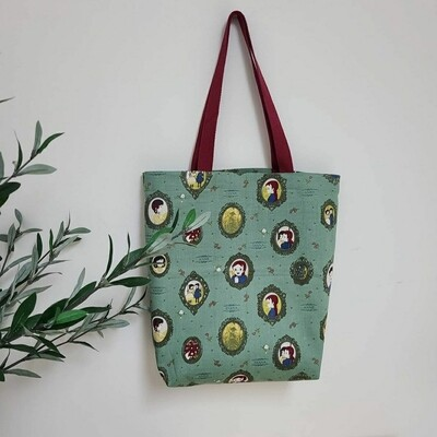 Echo Bag Small _ Green Anne
