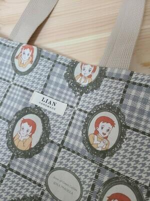 Echo Bag Large _ Checkered Anne