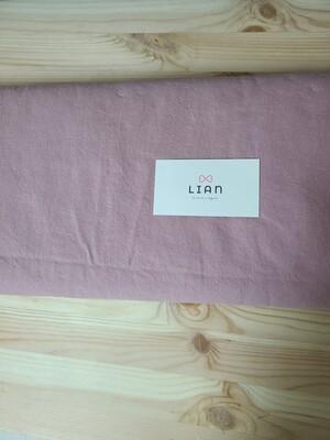 Doobarim cotton linen solid_indie pink