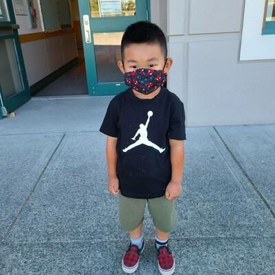 Kids Handmade Mask _ spider man