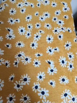 Corduroy_ mustard/daisy