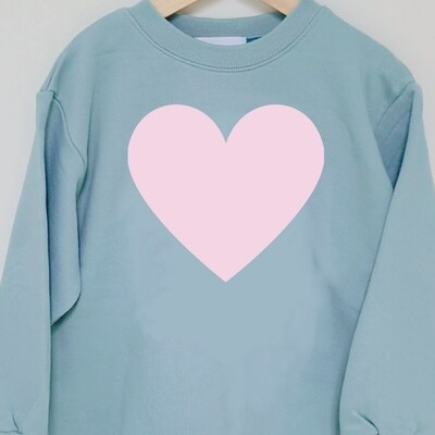 Big Heart _ Kids Sweatshirts