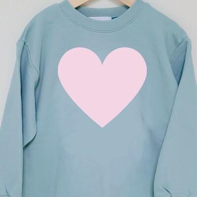 Big Heart _ Mom Sweatshirt