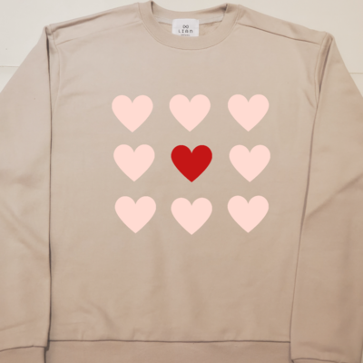 The center of my Heart _ Kids Sweatshirts