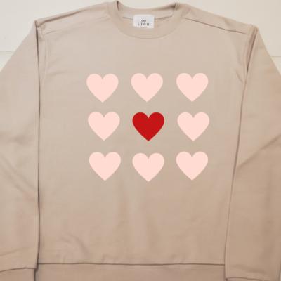 The center of my heart _ Mom Sweatshirt