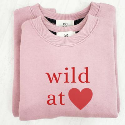 Wild at Heart _ Mom Sweatshirt