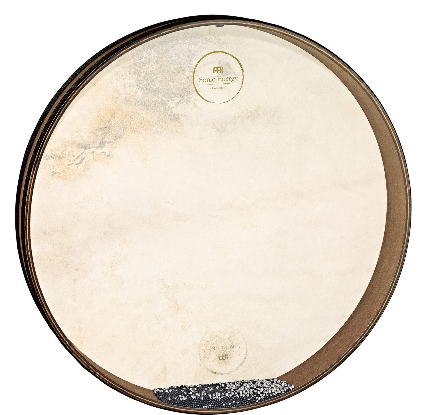 "Wave Drum, 18"" Walnut Brown"