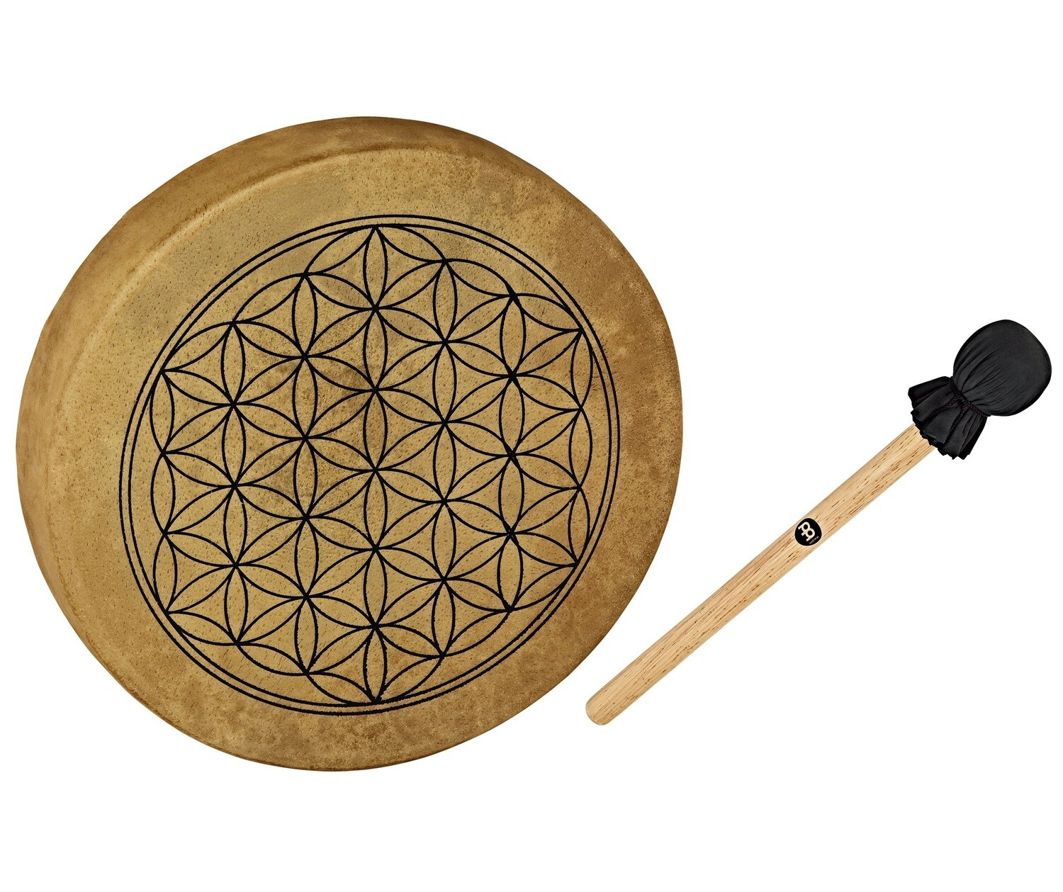 "Hoop Drum, 15"", Flower of Life"