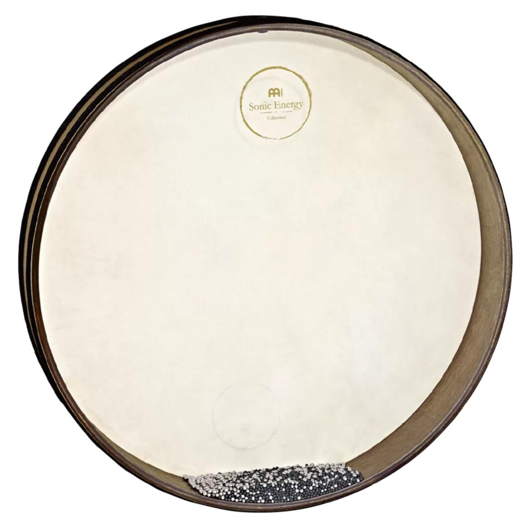 """Wave Drum, 16"""" Walnut Brown"""