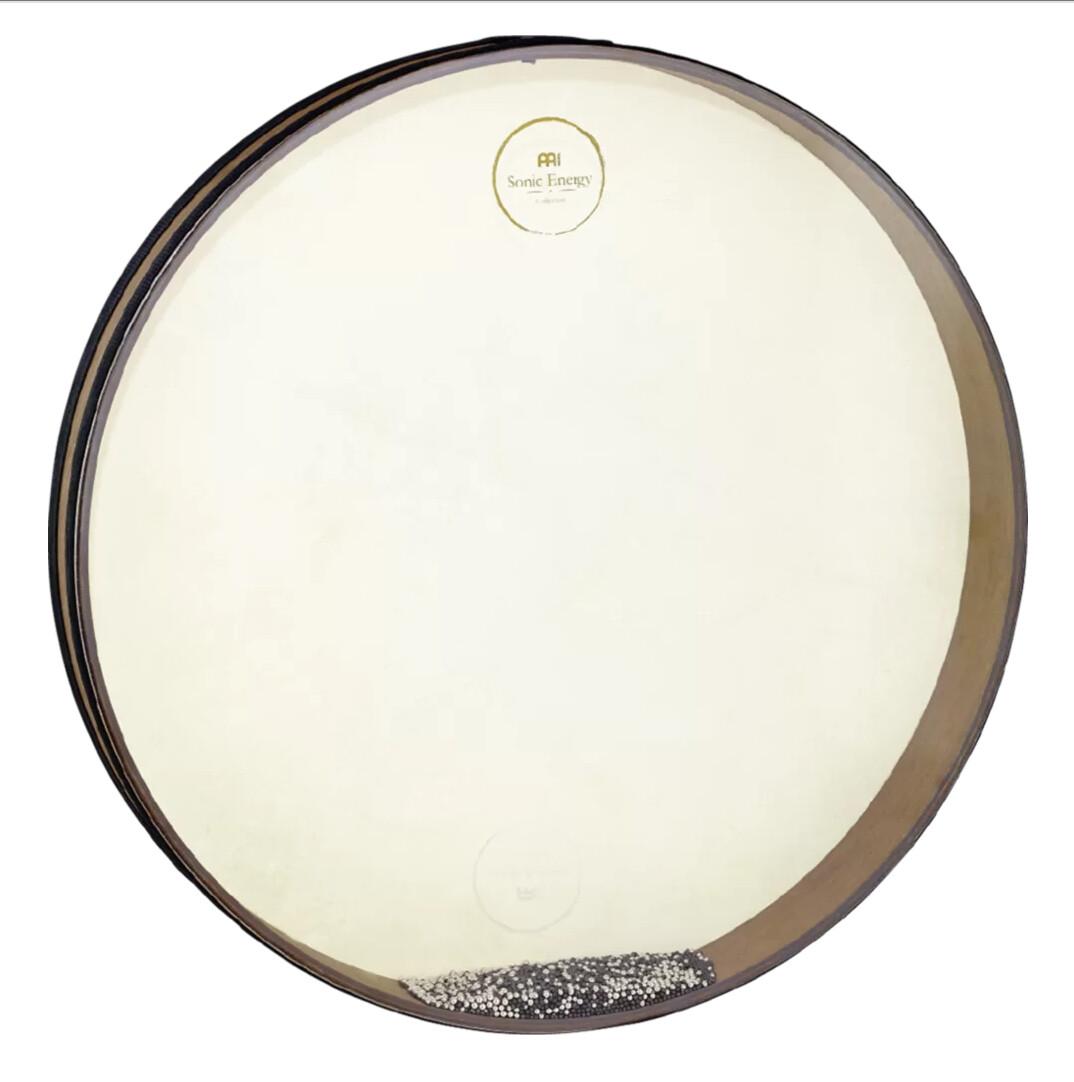 """Wave Drum, 20"""" Walnut Brown"""