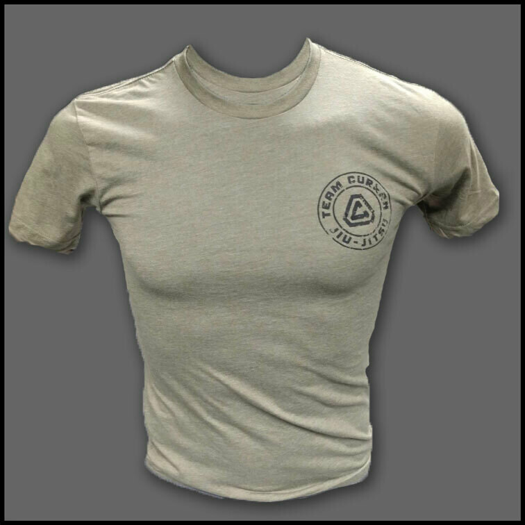 Distressed T (Army Green)