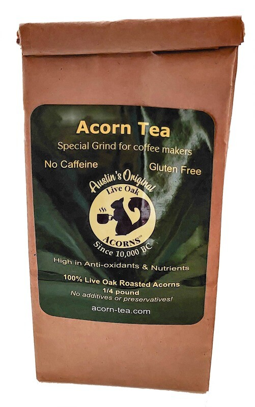 Coffee Grind Acorn Tea
