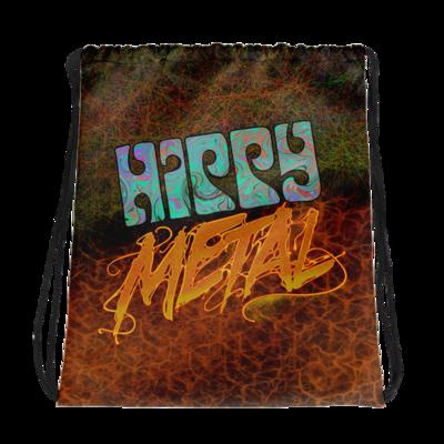 """""""Hippy Metal"""" Drawstring Bag"""