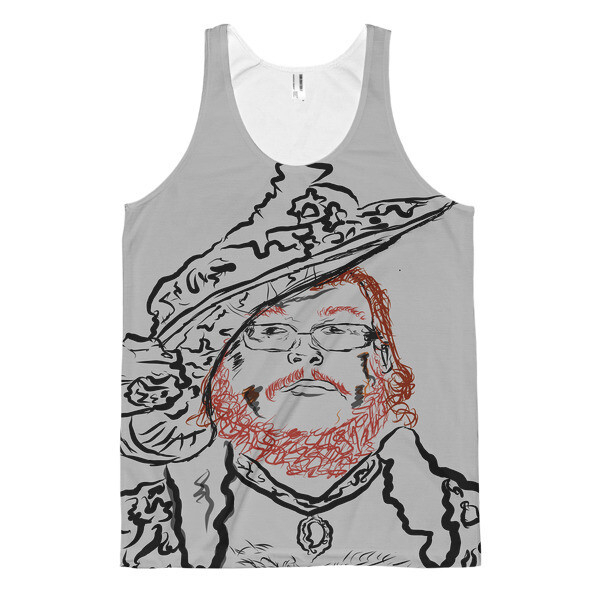 """""""Lady Dime"""" Classic Fit Tank Top All Over Print"""