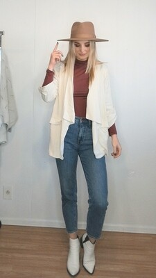 Cream Summer Blazer