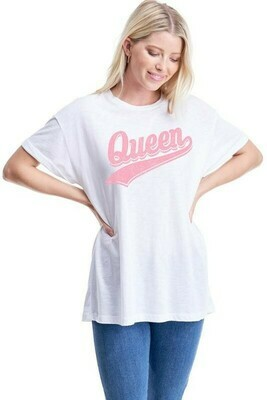 White Queen graphic tee
