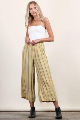 Mustard Striped Pants