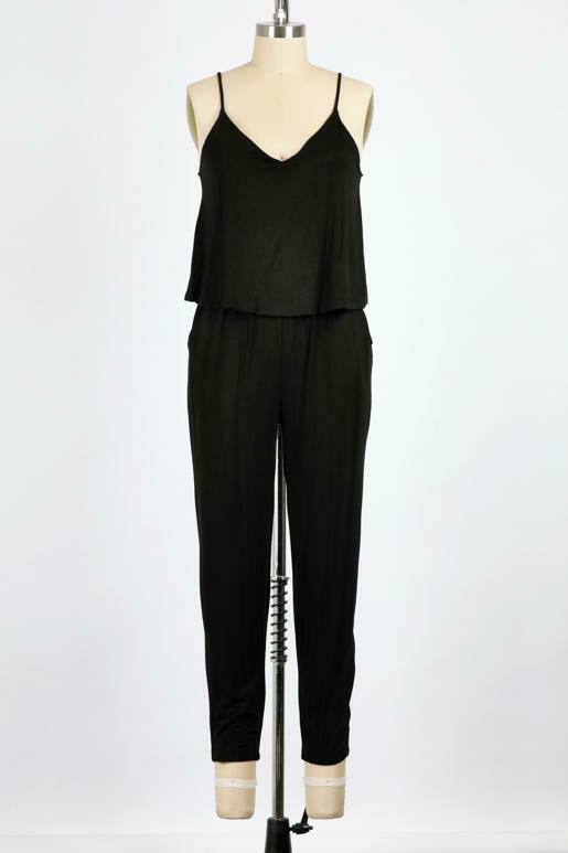 Soft Jumpsuit with Pockets