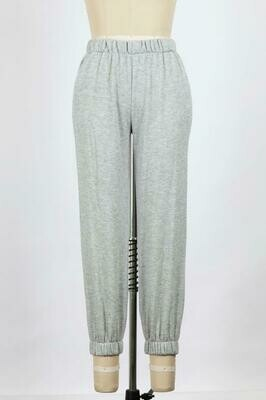 Grey Sweatpants with Pockets