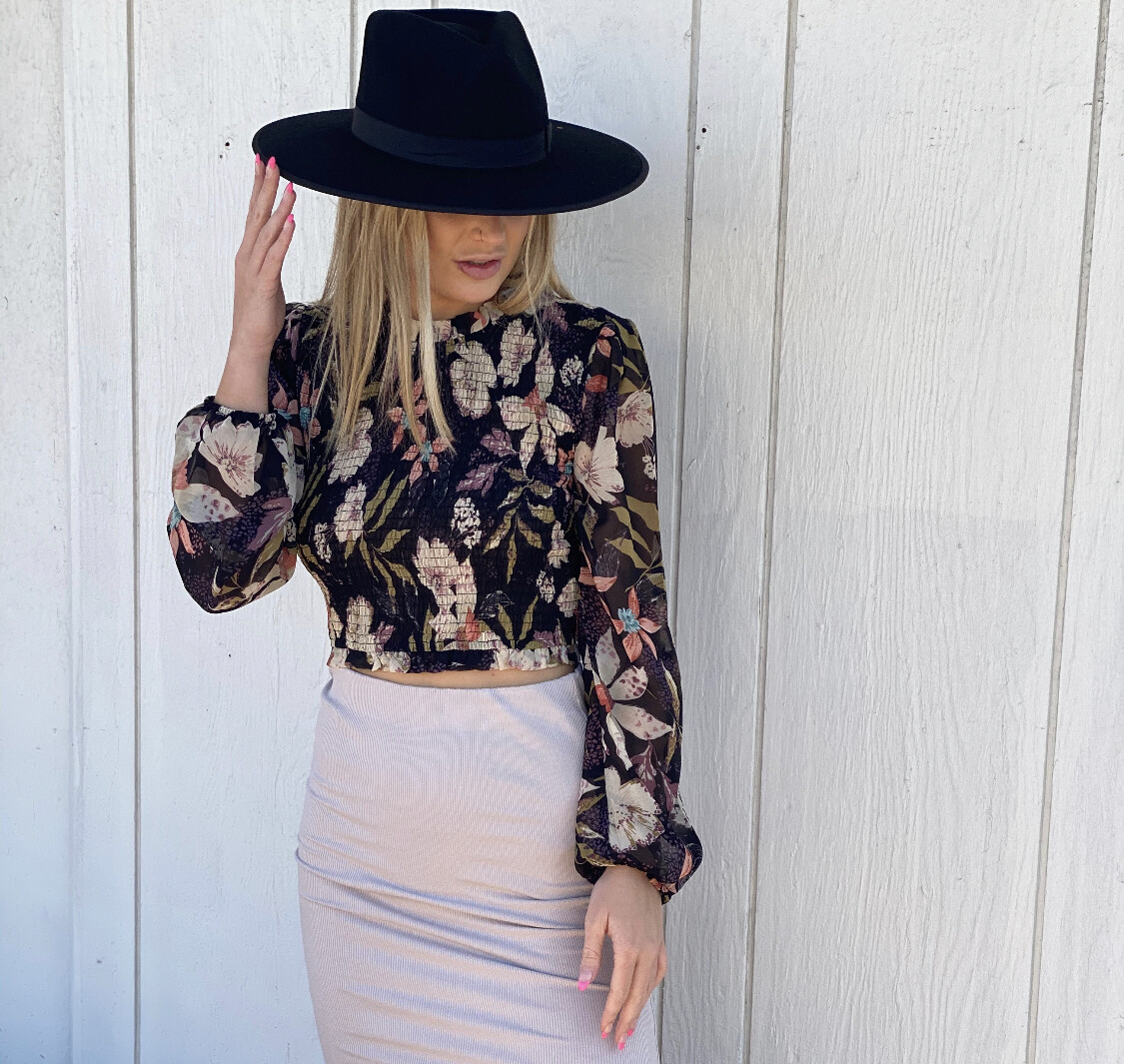Layla Floral Print Top