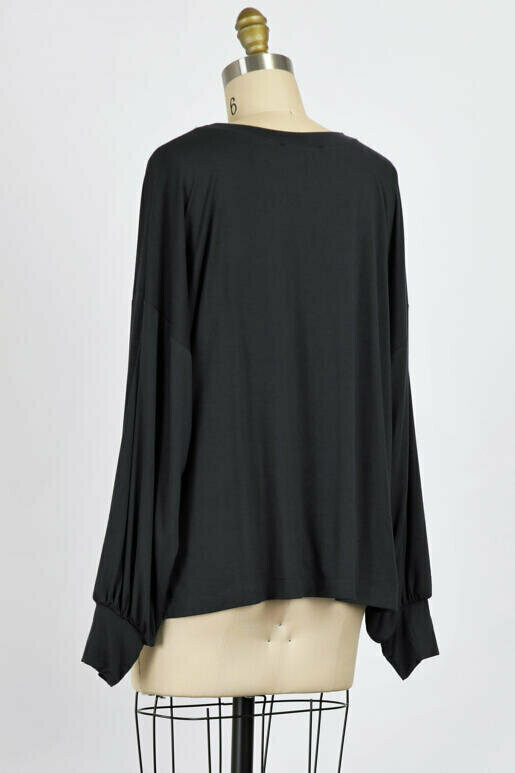 Take Me Out Take Me Home Pullover in Graphite