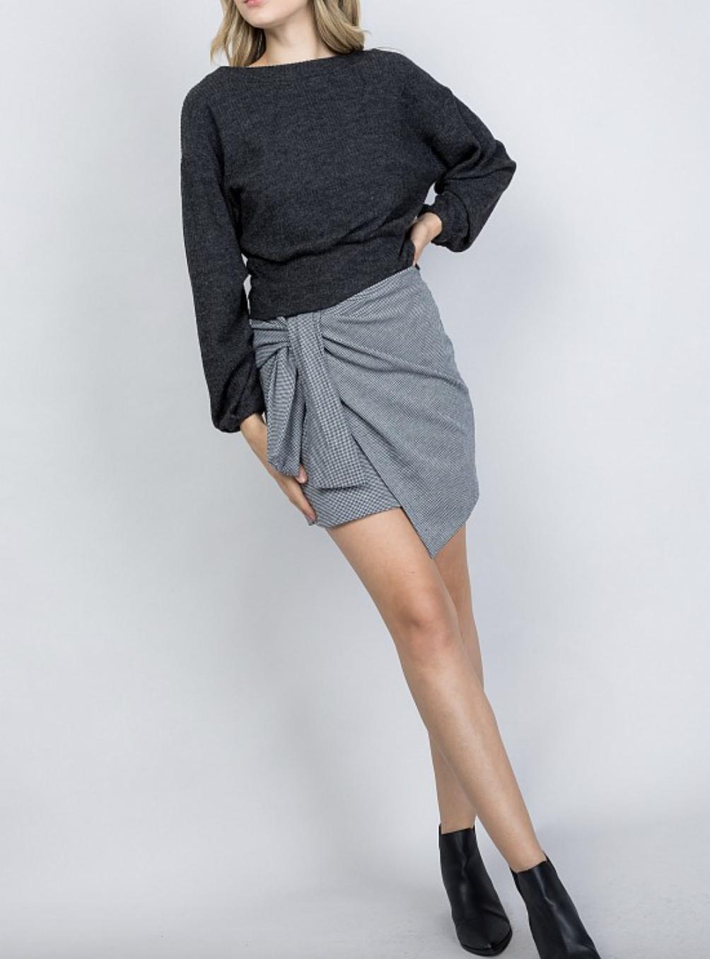 Preppy Wrap Skirt