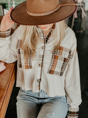 Nashville Button Up in Cream