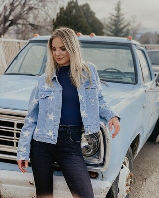 Be the Star You Are Denim Jacket
