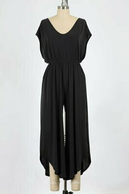 Day and Night Jumpsuit in Black